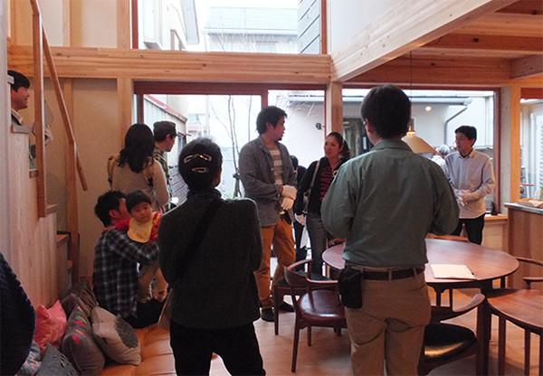 モデルハウス見学会の様子3